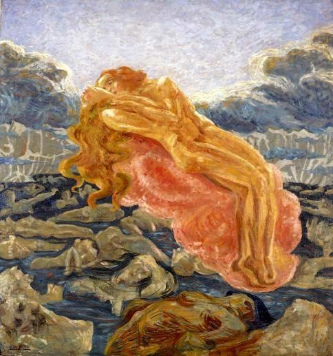Boccioni, Il sogno, 1908-1909