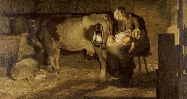 Segantini, Le due madri, 1889