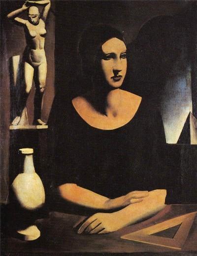 Sironi, L'allieva, 1924
