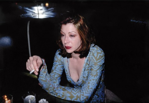 Nan Goldin, Kathleen at the Bobery Bar, 1995