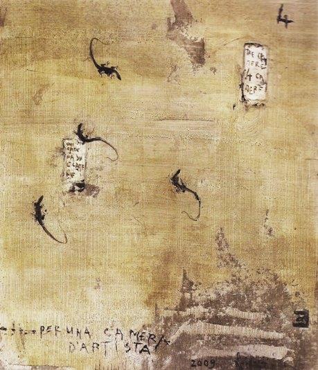 Pizzi Cannella, Per una camera d'artista, 2009
