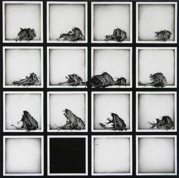 Scanavino, Alfabeto senza fine, 1974