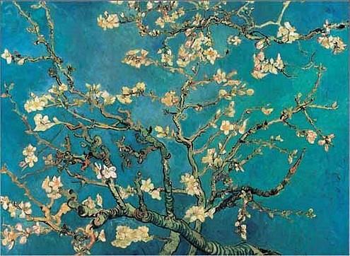 Van Gogh, Amandier en fleur, 1890
