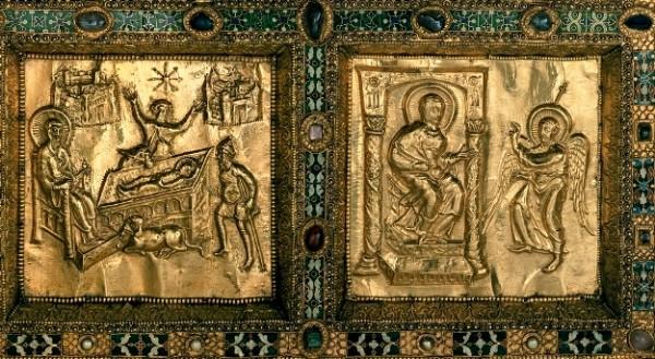 Vuolvinio, Altare di Sant'Ambrogio a Milano, 824-829, particolare
