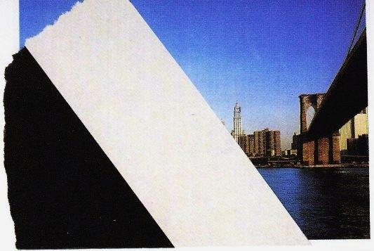 Kelly, Collage su cartolina, 1964