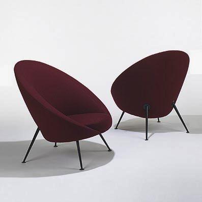 Parisi, Poltrona a uovo 813, 1951