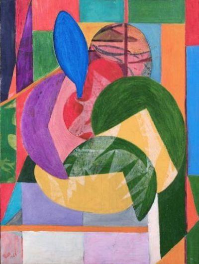 Perilli, Composizione, 1947