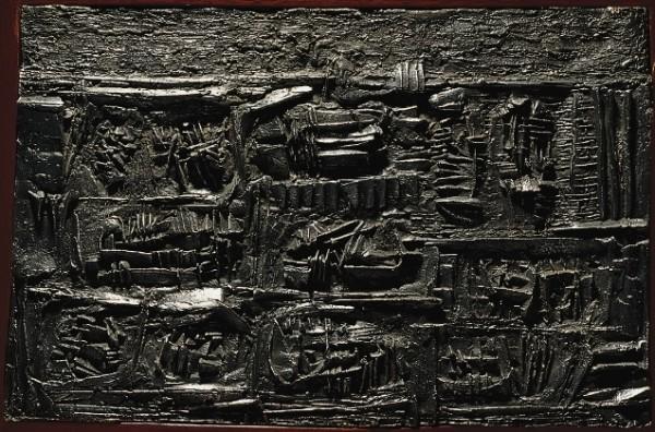 Arnaldo Pomodoro, Tavola dei segni, 1957, II, 1957