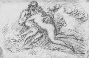 Il Piccio, Le figlie di Lot, 1870-1872