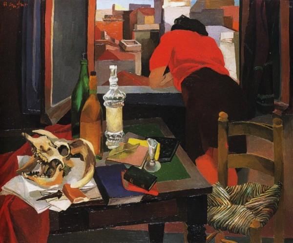 Guttuso, Donna alla finestra, 1942