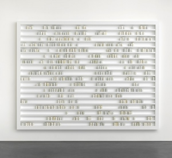 De Waal, Breathturn, I, 2013  © Edmund de Waal. Courtesy Gagosian Gallery. Ph. Mike Bruce