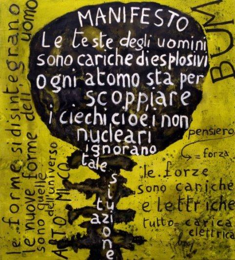 Baj, Bum. Manifesto nucleare, 1952
