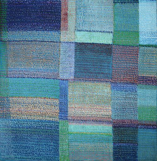 Weller, La filigrana dei miei istanti è azzurra, 2010