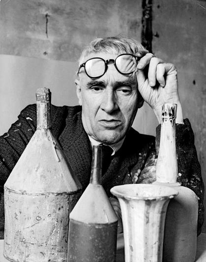 Herbert List, Giorgio Morandi, 1953