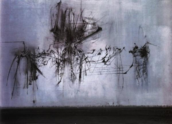 Scanavino, Composizione, 1957