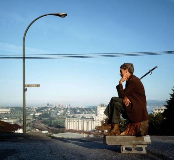 Jeff Wall, The Thinker, 1986