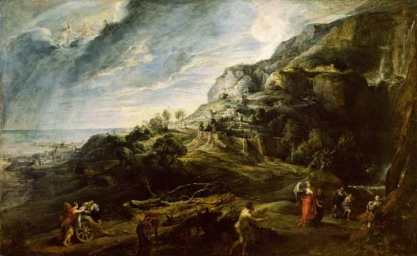 Rubens, Ulisse nell'isola dei Feaci, 1630-1635