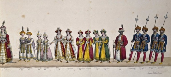 Marcia Persiana, 1827