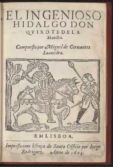 El ingenioso hidalgo Don Quixote de la Mancha, Lisbona 1605