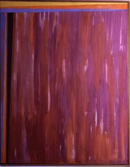 Turcato, La porta d'Egitto, 1965, part.
