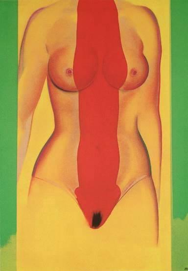 Allen Jones, Untitled, 1976-1977