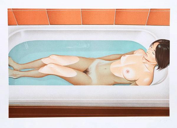 Mel Ramos, Bonnard's Bath, 1979
