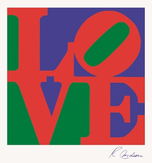 Robert Indiana, Love. 1967