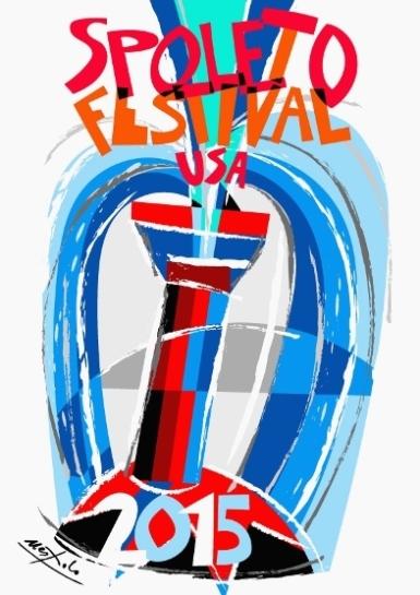 Nespolo, Bozzetto per Spoleto Festival USA, 2015