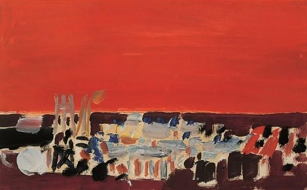 De Staël, Étude d'orchestre, 1955