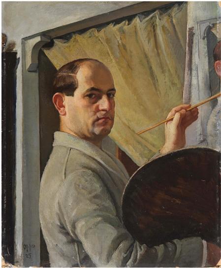Oppo, Autoritratto, 1927