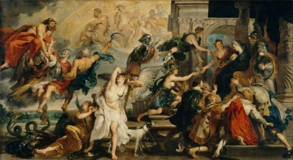 Rubens, L'Apothéose de Henri IV et la proclamation de la régence de Marie de Médicis, le 14 mai 1610
