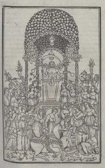 Hypnerotomachia Poliphili, in volgare, Manuzio, 1499
