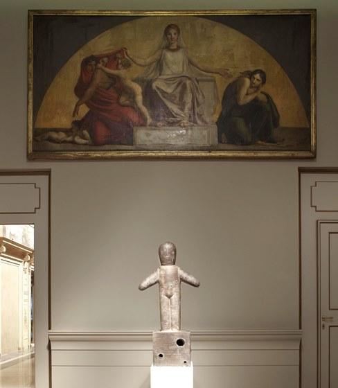 Lanzi, Ludens, 2012, installazione alle Collezioni Comunali d'Arte, Bologna, 2016