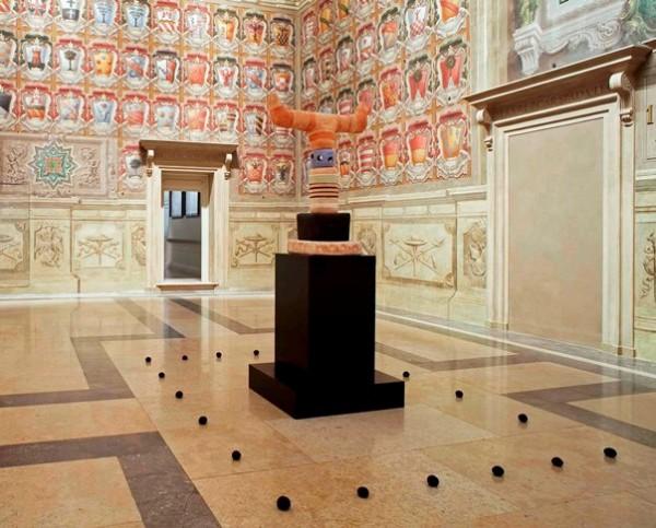 Lanzi, Totem, 2010, installazione alle Collezioni Comunali d'Arte, Bologna, 2016