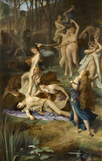 Levy, La Mort d'Orphée, 1866