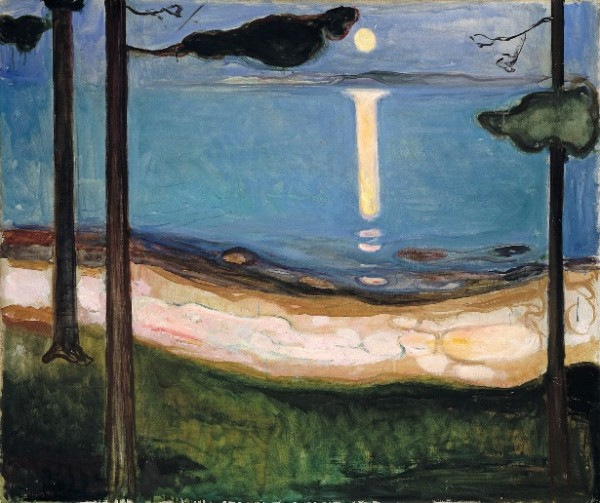 Munch, Moonlight, 1895