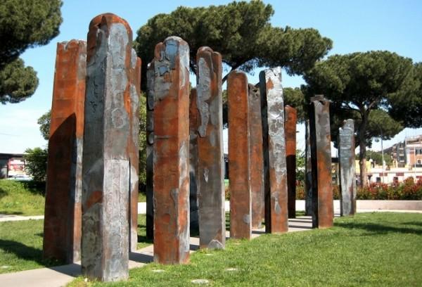 Spagnulo, La foresta d'acciaio, Monumento ai Caduti di Nassiriya, Roma 2006-2008