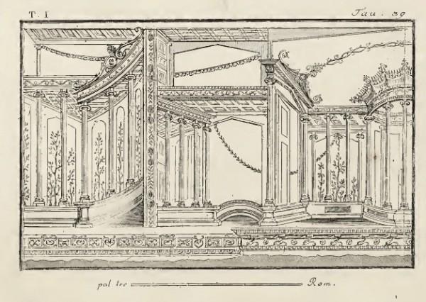 Piroli, Antiquités d'Herculanum, 1804