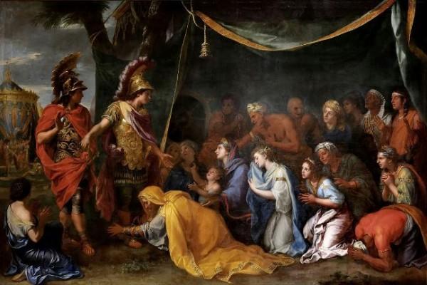 Le Brun, Les reines de Perse aux pieds d'Alexandre, c.1660