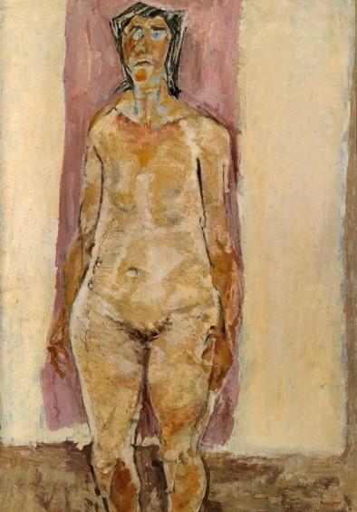 Pirandello, Donna con occhi azzurri, 1950
