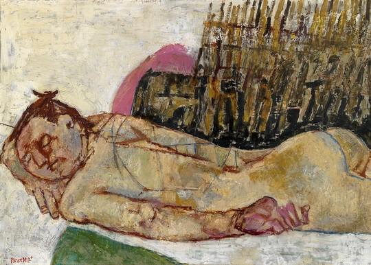 Pirandello, Nudo dormiente, c. 1967