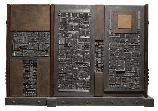 Pomodoro, Grande tavola della memoria, 1959-1965