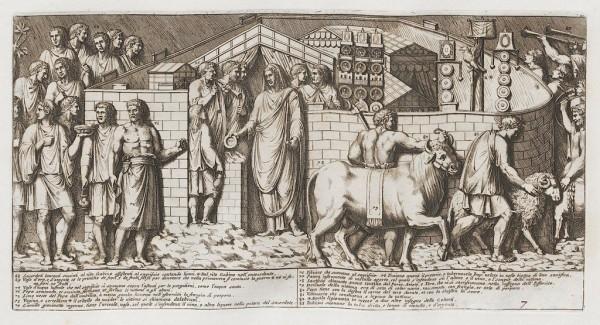 Santi Bartoli, Colonna Traiana, 1673, 15