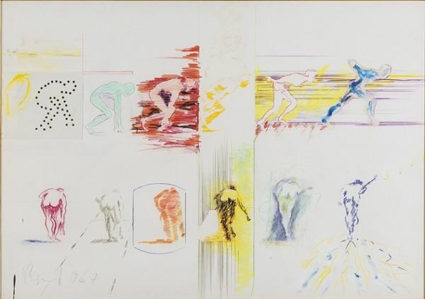 Bignardi, Senza titolo, 1967