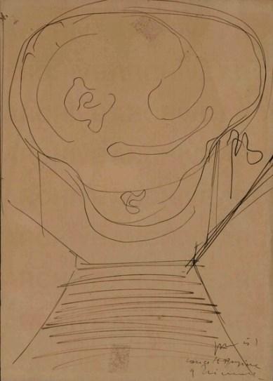 Fontana, Concetto spaziale,1951