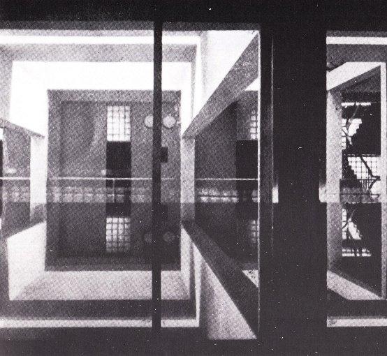 Ico Parisi, Casa del Fascia di Terragni a Como, fotografia, in  Quadrante, 1937