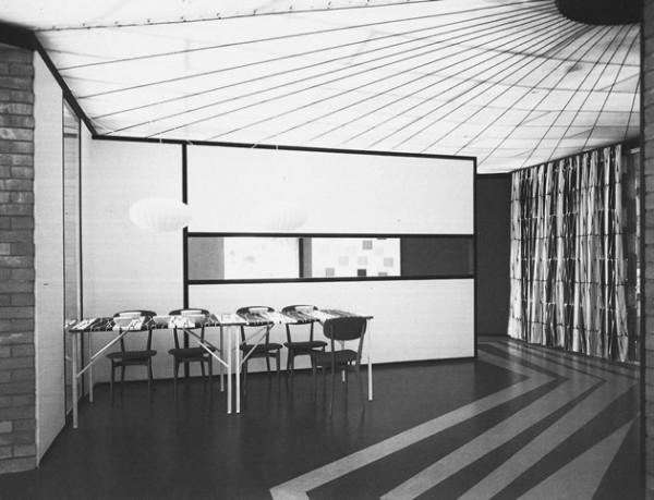 Ico Parisi, Casa per vacanze, in Colori e forme nella casa d'oggi, Como, 1957