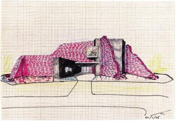 Ico Parisi, Edificio Bobadilla, Dalmine, 1985