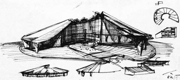 Ico Parisi, Padiglione Soggiorno,X Triennale, 1954