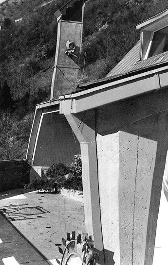 Parisi, Casa Parisi, Como, con Fontana e Munari, 1957-1958